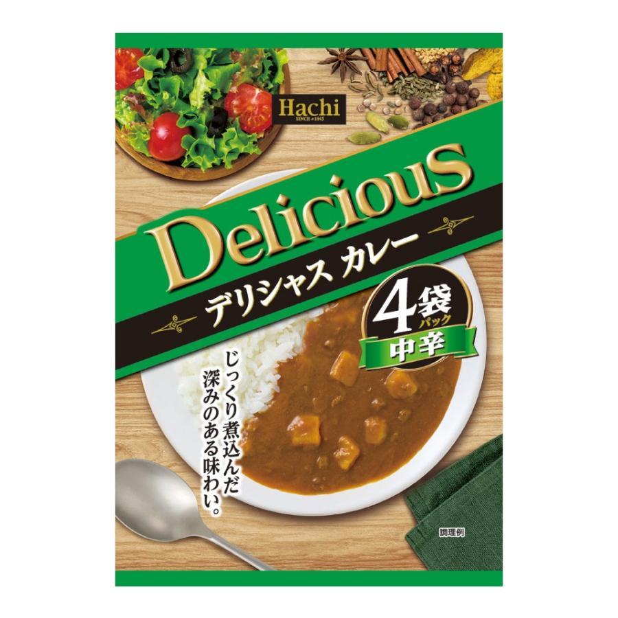 デリシャスカレー 4袋セット カレー 甘口 中辛 辛口 ハヤシ から選べます。大阪 ハチ食品 送料無料 ポスト投函便 ポイント消化 ペイペイ 元祖 激安 格安 plumterracenet 04