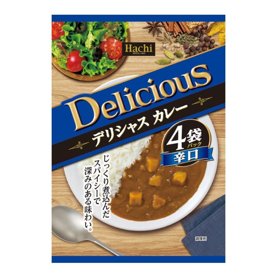 デリシャスカレー 4袋セット カレー 甘口 中辛 辛口 ハヤシ から選べます。大阪 ハチ食品 送料無料 ポスト投函便 ポイント消化 ペイペイ 元祖 激安 格安 plumterracenet 05