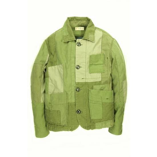 EATS Used Patchwork Jacket_ARMY パッチワークジャケット Sサイズ|plus-c