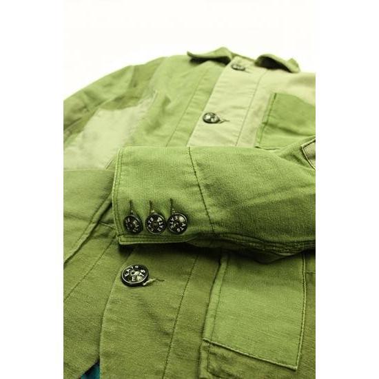 EATS Used Patchwork Jacket_ARMY パッチワークジャケット Sサイズ|plus-c|04