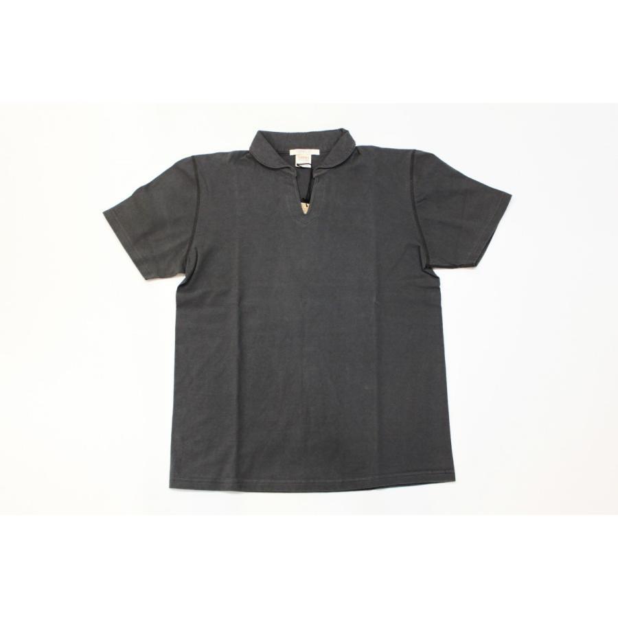 バーンズ アウトフィッターズ(Barns outfitters)スキッパーポロシャツ skipper polo shirt|plus-c