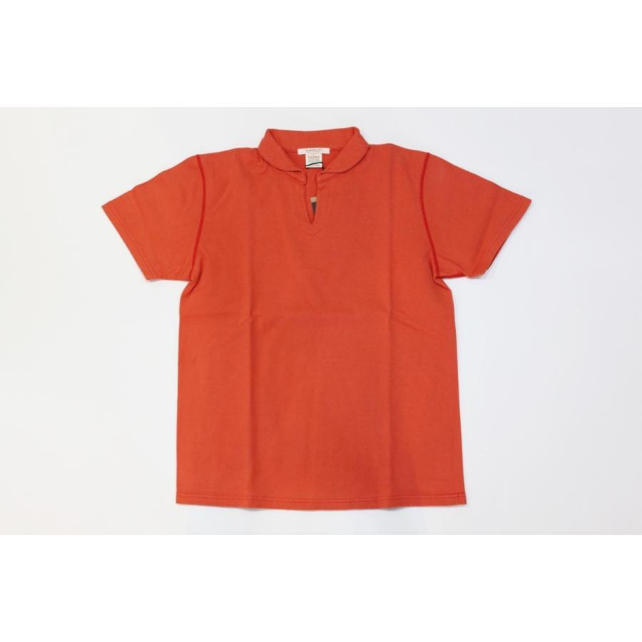 バーンズ アウトフィッターズ(Barns outfitters)スキッパーポロシャツ skipper polo shirt|plus-c|03