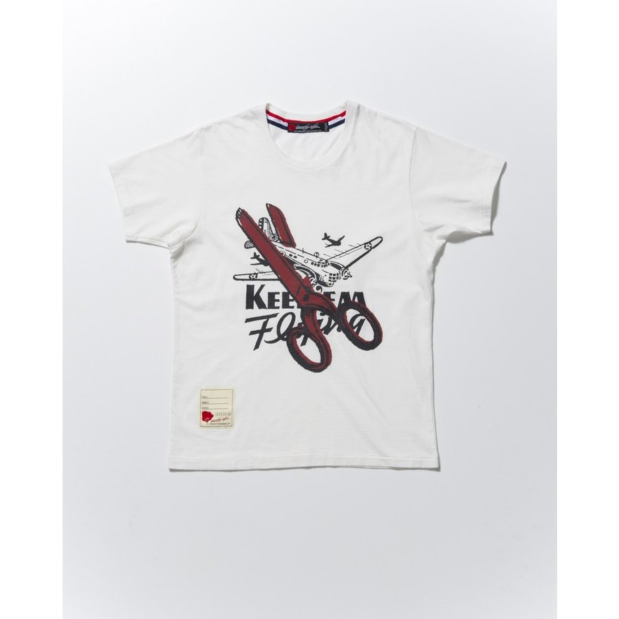 SEVESKIG(セヴシグ) T-SHIRT(SCISSORS)シャツ|plus-c