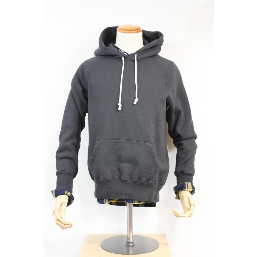 吊り編み裏起毛 フリーダムスリーブプルオーバーパーカー 今城メリヤス PATCHII|plus-c