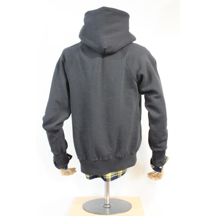 吊り編み裏起毛 フリーダムスリーブプルオーバーパーカー 今城メリヤス PATCHII|plus-c|03