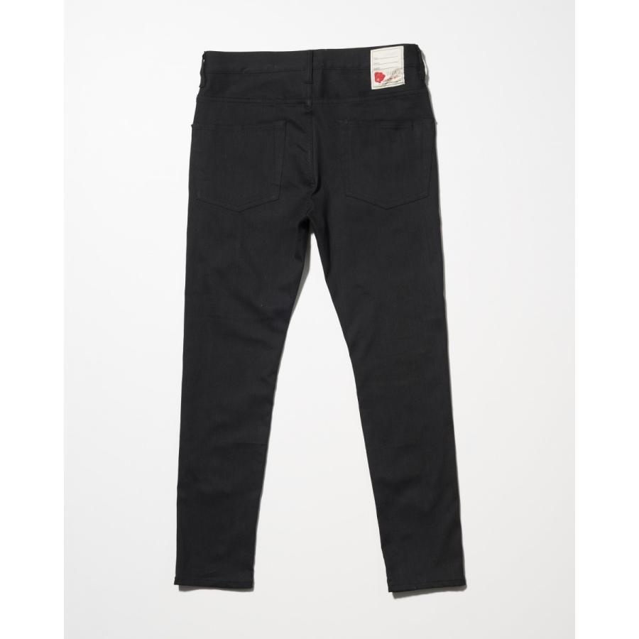 SEVESKIG(セヴシグ) EXTRA STRETCH SKINNY BLACK PANTS plus-c 02