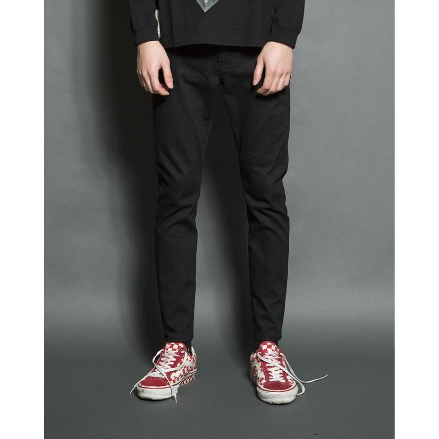 SEVESKIG(セヴシグ) EXTRA STRETCH SKINNY BLACK PANTS plus-c 06