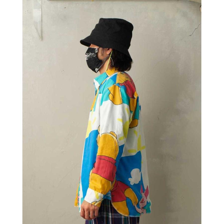 SEVESKIG(セヴシグ) BAN-DANA P.W SHIRT バンダナパッチワークシャツ plus-c 17