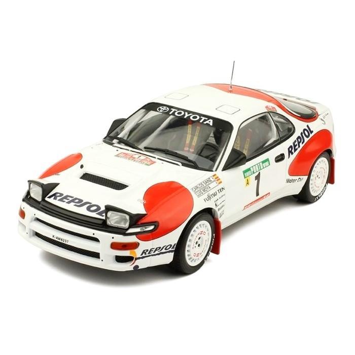 ixo(イクソ) 1/18 トヨタ セリカ GT-FOUR ST185 1992 ポルトガルラリー #1 C.サインツ