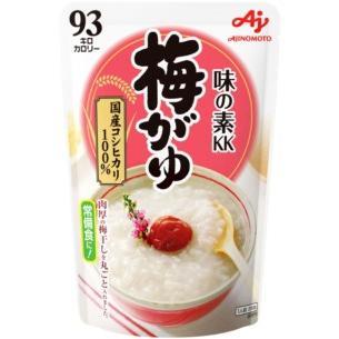 味の素 おかゆ 梅がゆ 250g 1ケース(9個入)|plus1spot