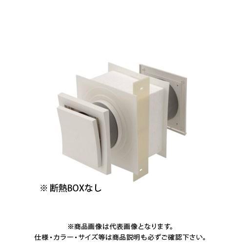 運賃見積り 直送品 日本住環境 給気口 スクウェアフロー断熱BOXなし(3個) (031106019)