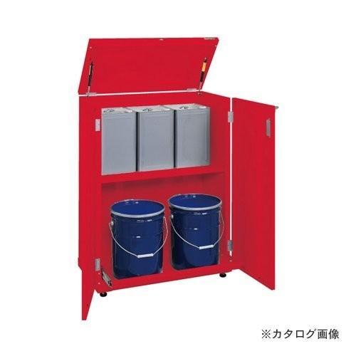 直送品 サカエ SAKAE 一斗缶保管庫 KU-ITKNC