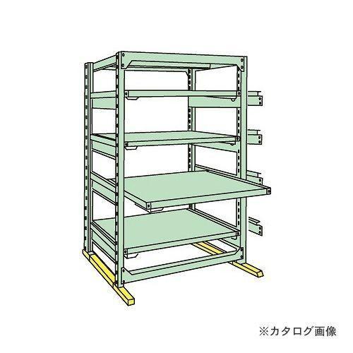 運賃見積り 直送品 サカエ SAKAE 中量スライドラック MSR1812L05T