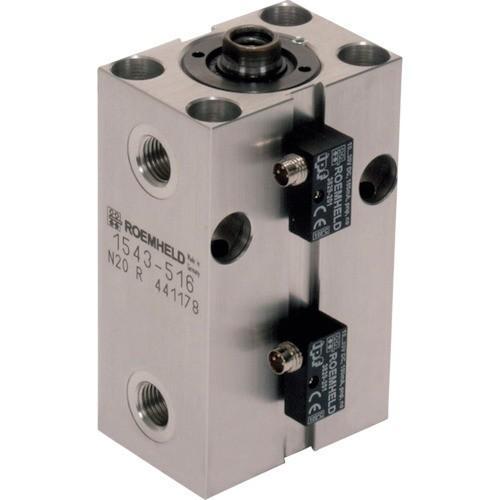 (個別送料2000円)(直送品)ROEMHELD ブロック・シリンダー ストローク 50mm ピストン径40 1545516