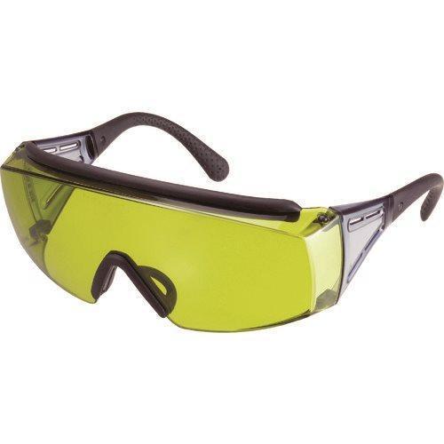 YAMAMOTO レーザ光用一眼型保護めがね オーバーグラスタイプ レンズ色グリーン YL-335 LD-YAG