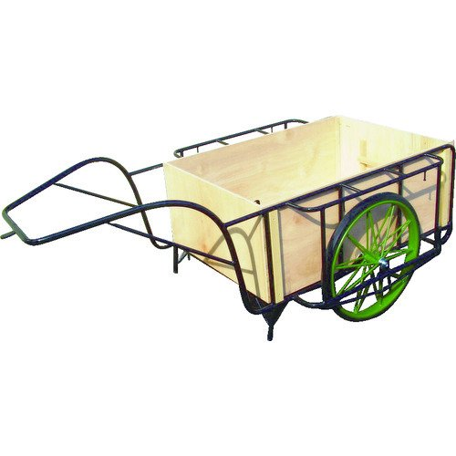(運賃見積り)(直送品)ムラマツ リヤカー木箱付き MR-3K