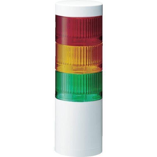 パトライト LR7型 積層信号灯 Φ70 直取付け LR7-402WJNW-RYGB