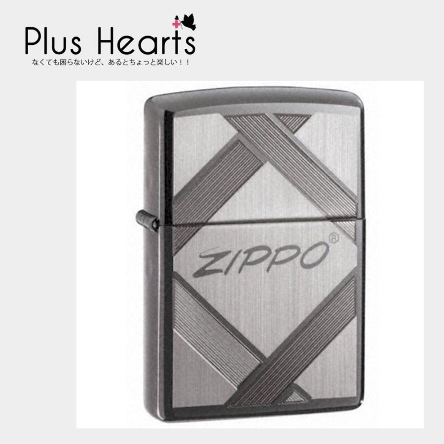 Zippo (ジッポー) 伝統 ブラック アイス ライター