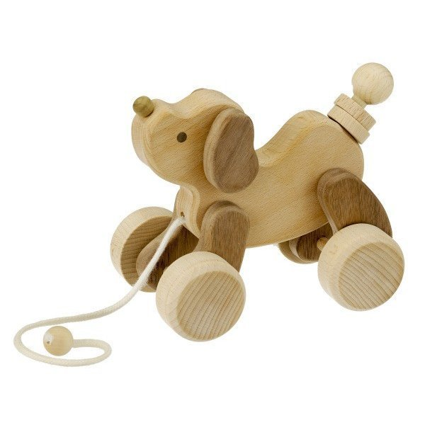 森のこいぬ W-80 平和工業 木のおもちゃ 知育玩具 プレゼント あすつく対応