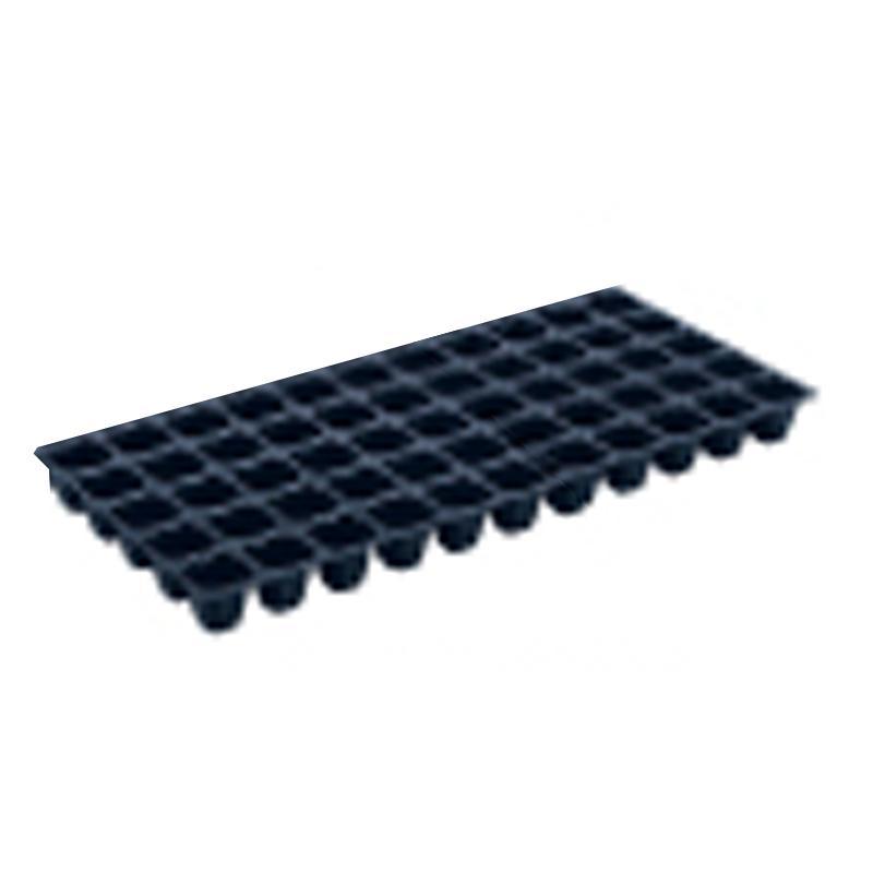 【100枚】 ヤンマートレイ 黒 45角 55穴 深さ45mm 葉たばこ ヤンマートレー タ種【代引不可】
