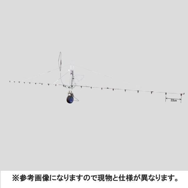 中持カート S型 18頭口 キリナシ 除草 ( G3/8 ) (142100) ヤマホ 工業 防J【代引不可】