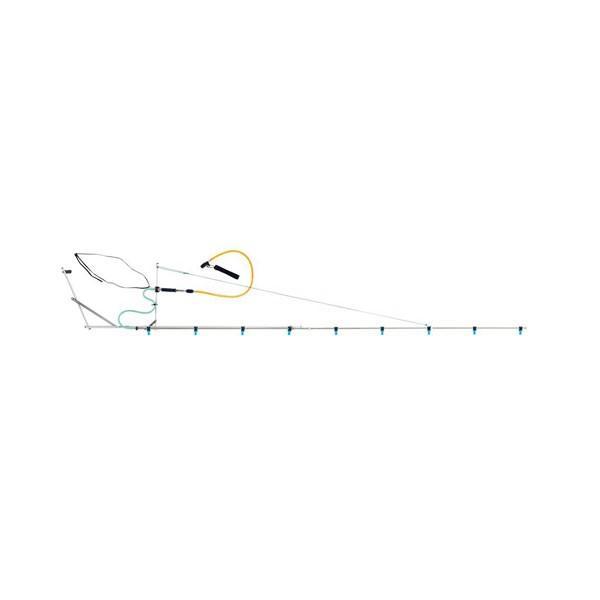 片持 ブーム G型 10頭口 ラウンド 25タイプ ( G1/4 ) (152152) ヤマホ 工業 防J【代引不可】