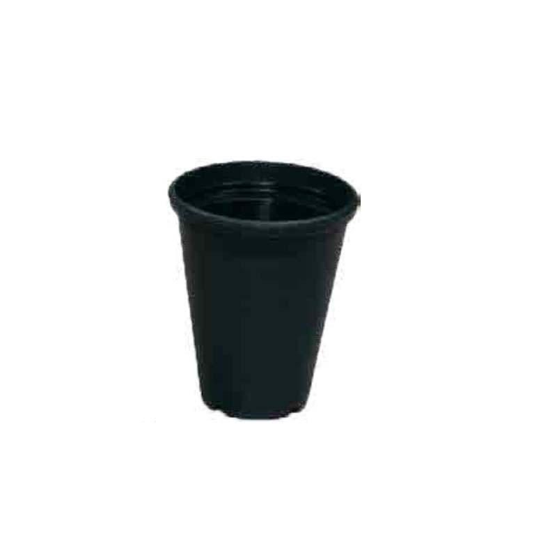 【450個】 #1111 プラスチックポット DXシリーズ 4寸 濃緑 外径123mm 高さ145 鉢 明和 明W 【代引不可】