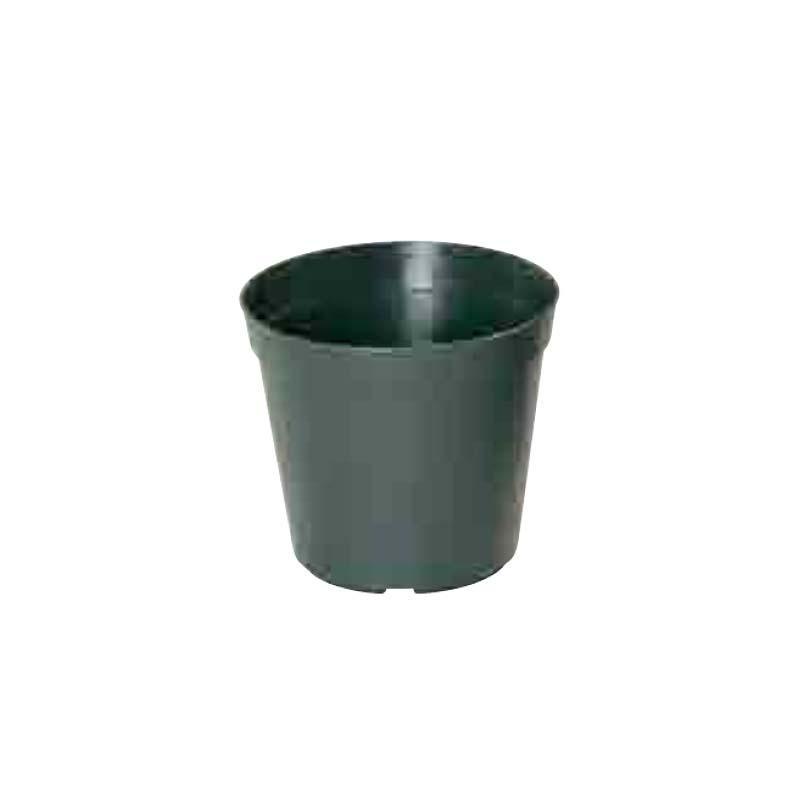 【450個】 #1262 プラスチックポット Nシリーズ N 50 モスグリーン 外径144mm 高さ134mm 緑 鉢 明和 明W 【代引不可】