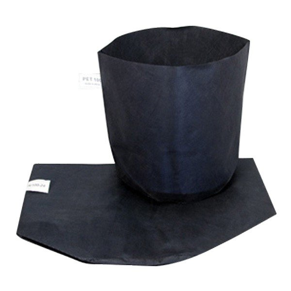 シュームポット 黒 H/100-15 口径15cm底経15cm高さ15cm 1000枚入 早S【代引不可】