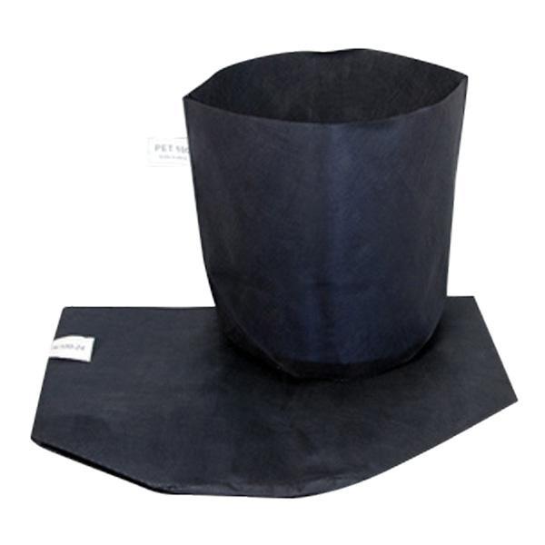 シュームポット 黒 H/100-24 口径24cm底経24cm高さ23cm 600枚入 早S【代引不可】