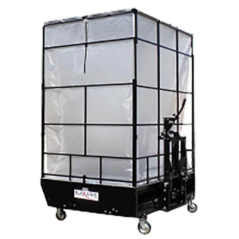 【個人宅配送不可】【フォークリフト必須】もみがら 散布 コンテナ もみがらマック MAC-610A-D イガラシ機械工業 オK【代引不可】