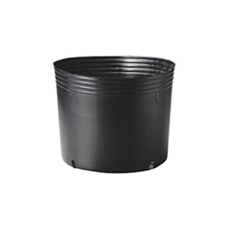 【125個】 40cm 黒 TO 浅鉢安定型ポット ( UAタイプ ) ポリポット 東海化成 タ種 【代引不可】