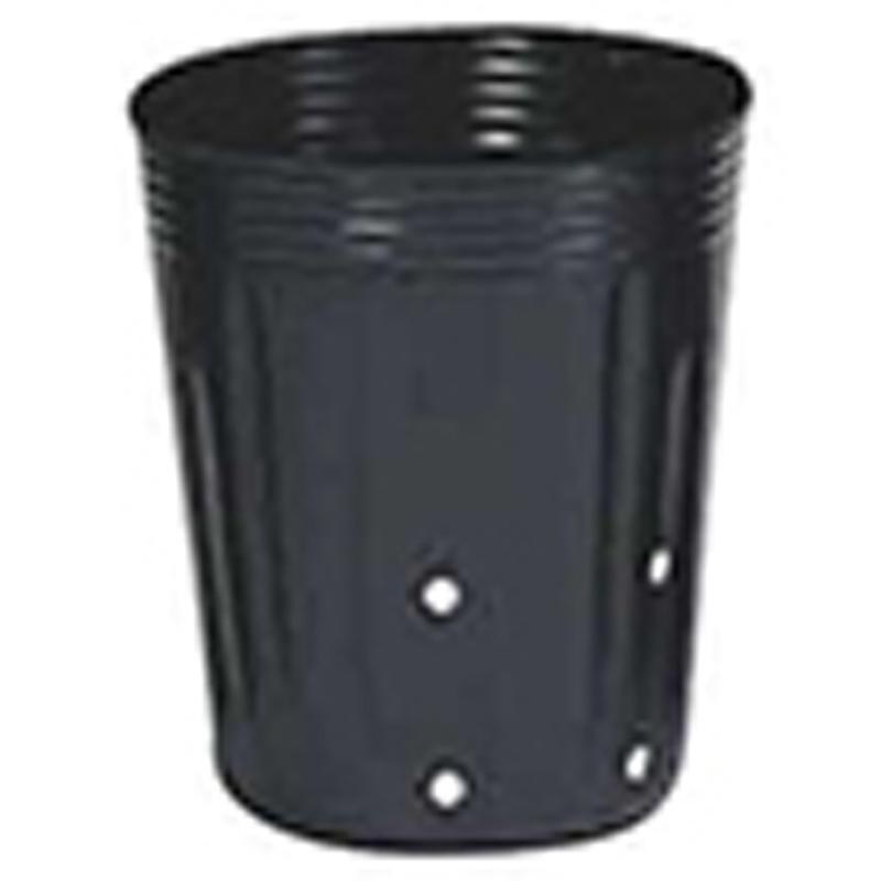【5000個】 15cm 黒 TO 深鉢側面24穴付 ( UCタイプ ) ポリポット 東海化成 タ種 【代引不可】