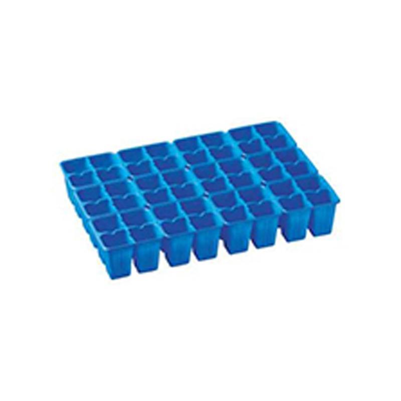 【750個】 33.3cm ×48cm 青 TO 4連×12パック ラベル挿し02トレー 用 東海化成 タ種 【代引不可】