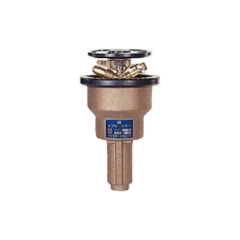 高耐久 金属 (緑化用 ゴルフ場等) ポップアップスプリンクラー PUP-92T 口径 7.9×4.8 mm 基本寸法 1PT 25度 共立イリゲート 防J【代引不可】