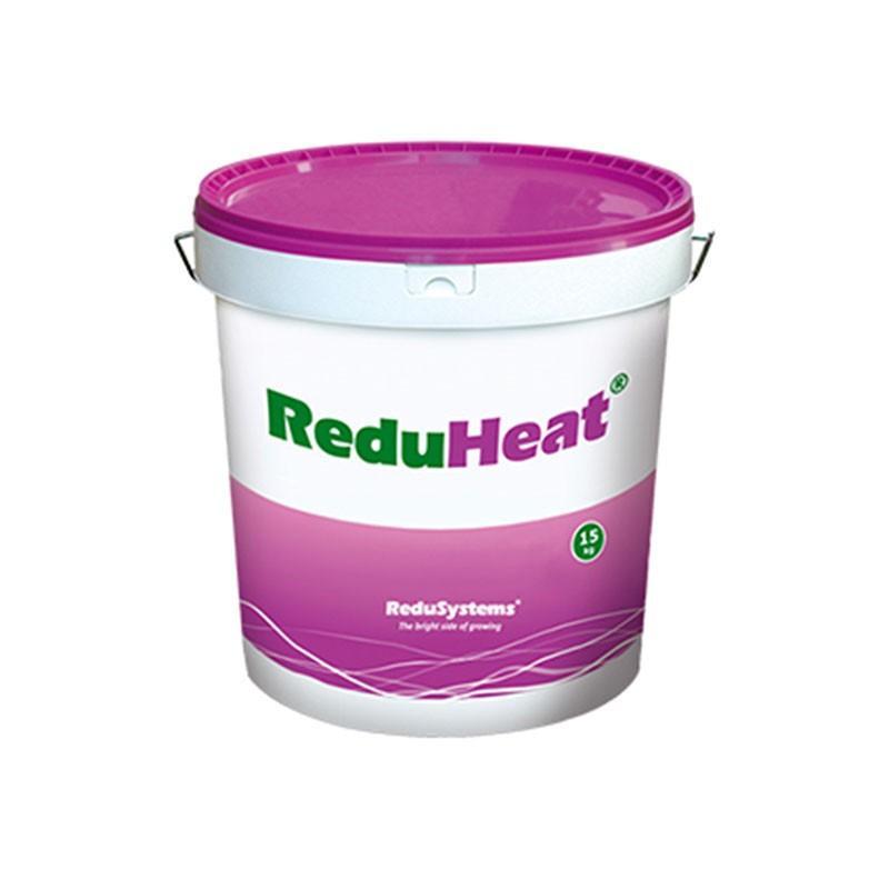 【フォークリフト必須】【44缶】 ビニールハウス に塗る 遮熱 剤 レディヒート 赤uHeat 15kg 塗布 カ施 【代引不可】