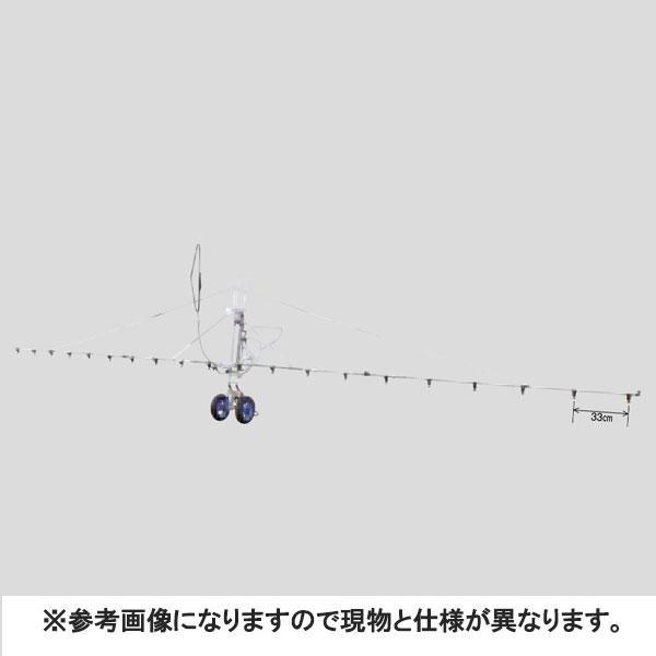 中持カート W型 18頭口 新 広角 スズラン ( G3/8 ) (121763) ヤマホ 工業 防J 【送料無料】 【代引不可】