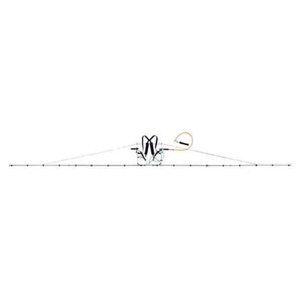 中持 ブーム G型 20頭口 キリナシ 除草 タイプ ( G3/8 ) (142095) ヤマホ 工業 防J 【送料無料】 【代引不可】