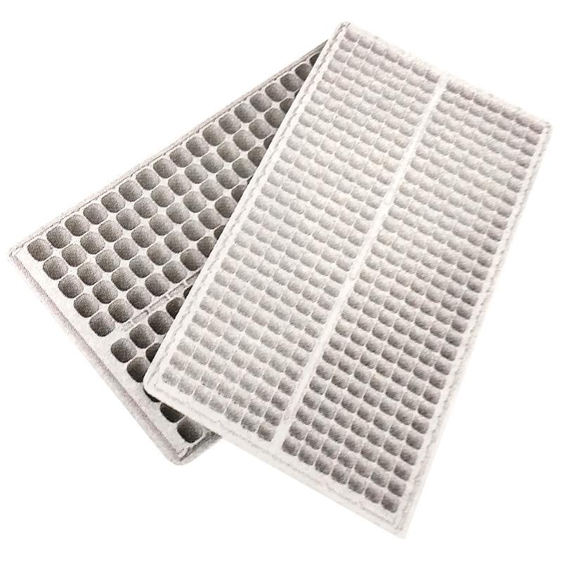 【100枚】 ランドマークトレイ 200穴 白 23角×高45mm 10×20列 プラグトレイ プラグトレー タ種 【送料無料】 【代引不可】