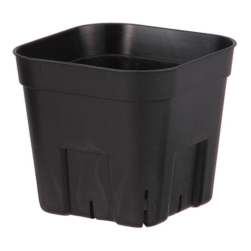 【個人宅配送不可】【1200個】 90型 ブラック プレステラ ポット 鉢 おしゃれ 日本ポリ鉢販売 タ種 【送料無料】 【代引不可】