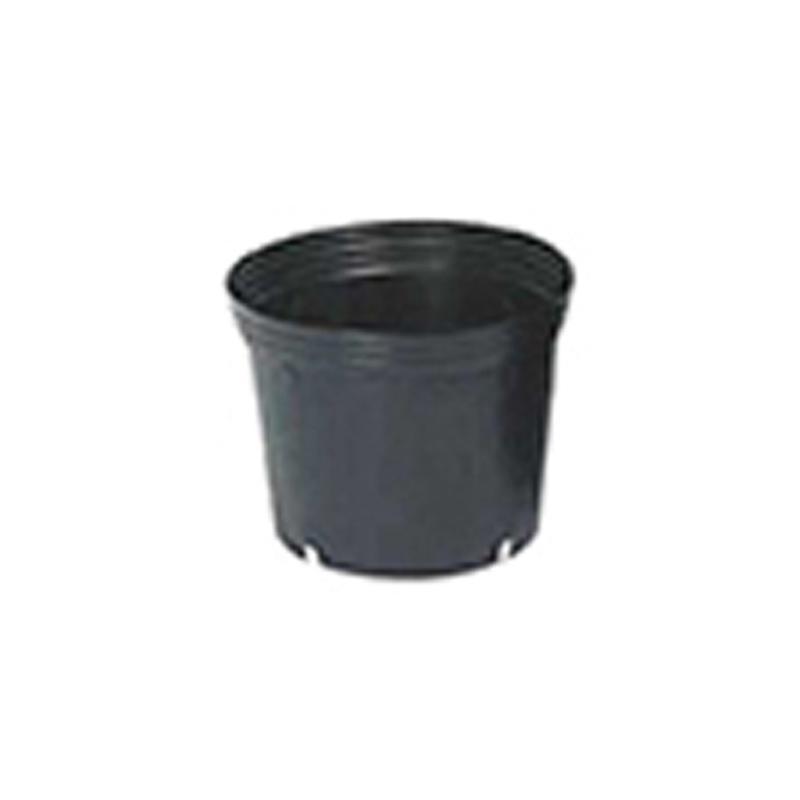 【2000個】 21cm -L 黒 TO 浅鉢安定型ポット ( UAタイプ ) ポリポット 東海化成 タ種 【送料無料】 【代引不可】