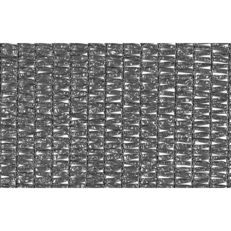 2m × 50m シルバー 遮光率約75% ワイドラッセル遮光ネット FES 6 寒冷紗 日本ワイドクロス タ種 【送料無料】 【代引不可】
