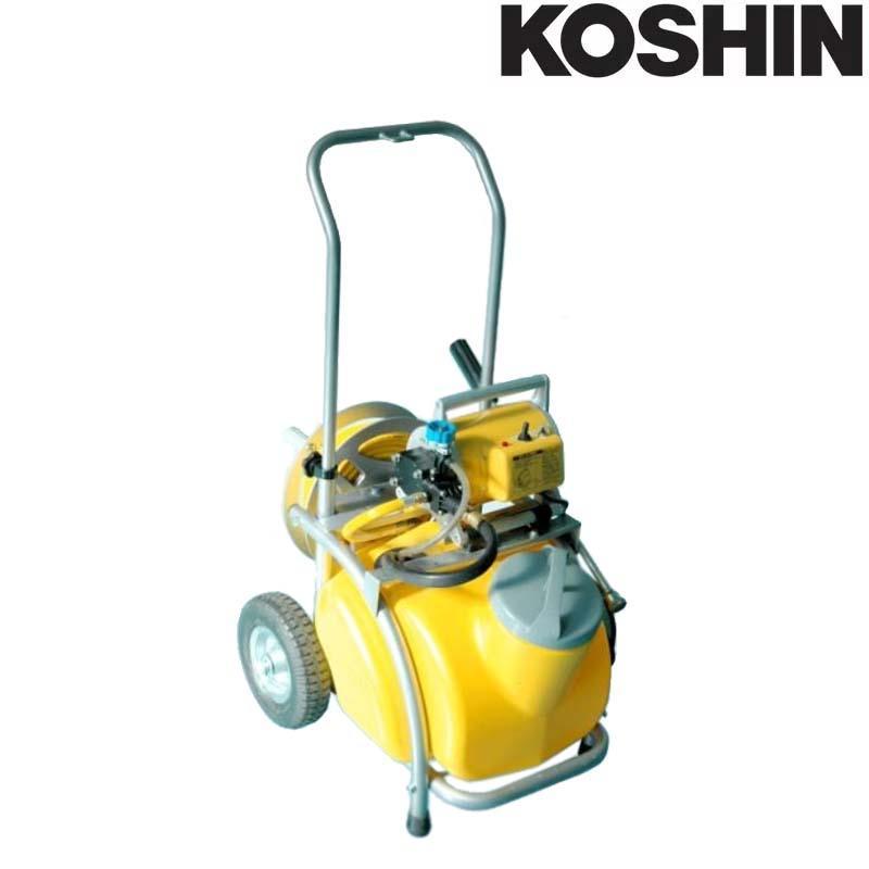 電動噴霧器 ガーデンスプレーヤー MS-252RT25 [25Lタンク + キャリー付] 250W ノズル長さ54cm 重量23.5kg 工進 KOSHIN 消毒 除草 散布 シB 送料無料 代引不可