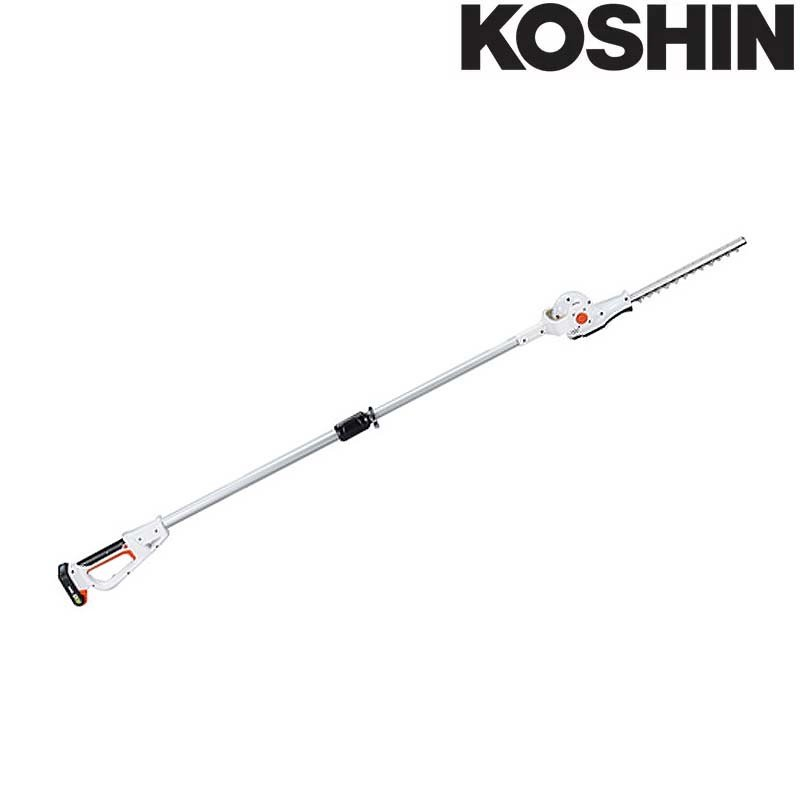 充電式伸縮ポールヘッジトリマ SPH-18N (バッテリー,充電器なし) 最大切断枝径18mm 伸縮式 最長2.2m 工進 KOSHIN 生垣 剪定用 シB 送料無料 代引不可