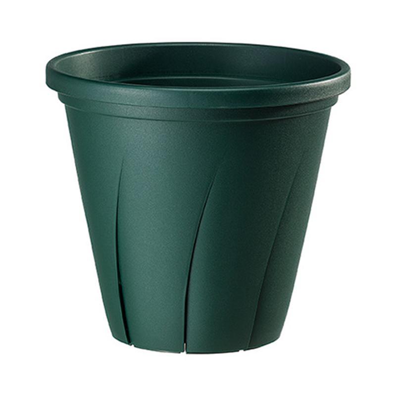 【120個】 根はり鉢 5号 ダークグリーン ポット 鉢 おしゃれ 充分な栄養補充 スリット構造 ヤマト タ種 【送料無料】【代引不可】 大和