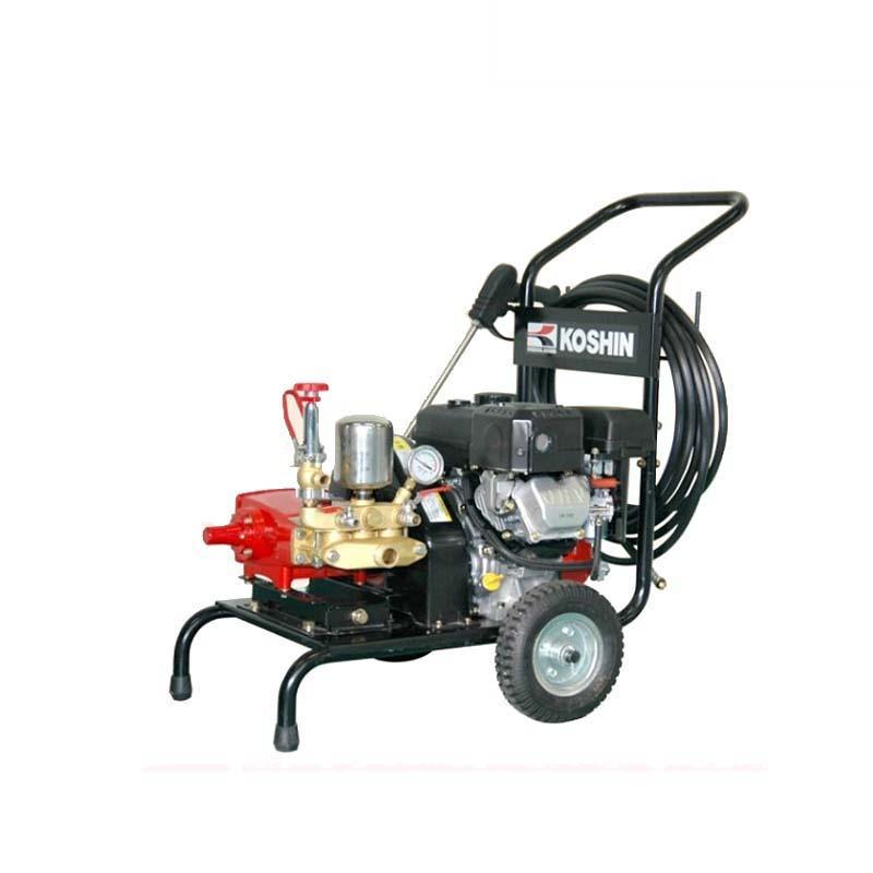 エンジン式洗浄動噴 DM-30 4サイクルエンジン 三菱GB130LN 最高圧力3.8MPa 最大吸水量25L/分 重量41.5kg 工進 KOSHIN 洗浄 防除 散布 シB 代引不可