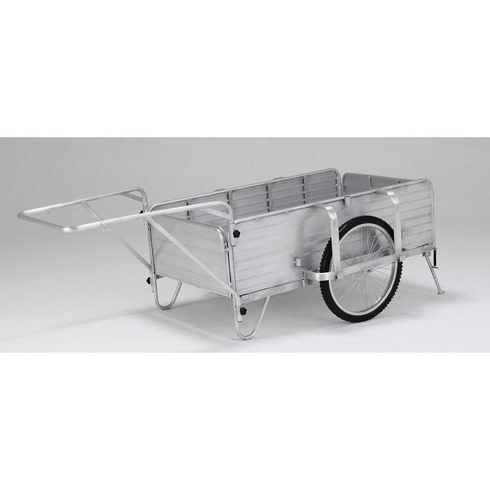 【北海道配送不可】 アルミ製 折りたたみ式 リヤカー HKW180L アルインコ 日本製 国産 AL 【代引不可】