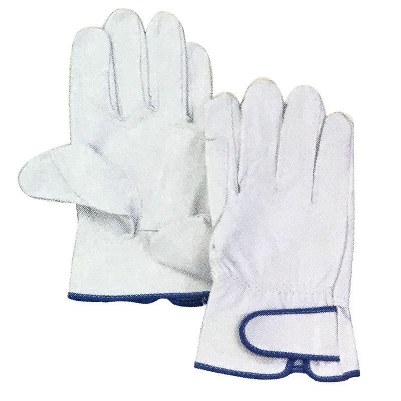 【120双】 牛革クレスト レインジャー あて付き 手袋 作業用 革 皮 工場 現場 熱T 【代引不可】