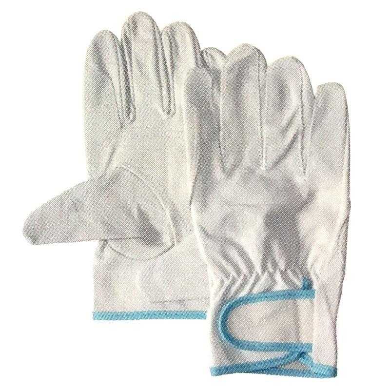 【120双】 豚革クレスト レインジャータイプ あて付き Lサイズ 手袋 作業用 革 皮 工場 現場 熱T 【代引不可】