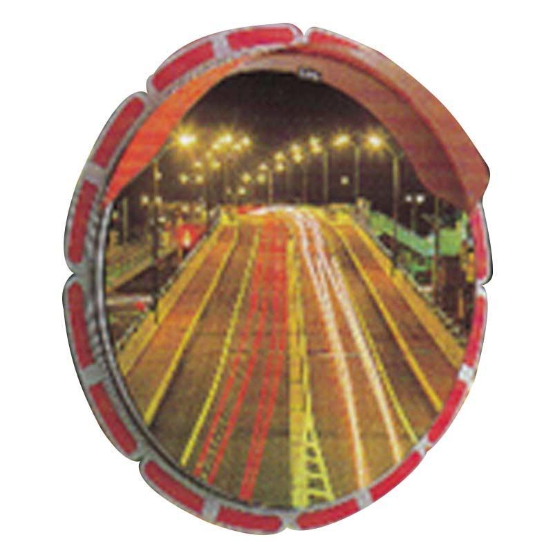 ひまわり ミラー 丸型 HA-3 直径1000 ミラーのみ 裏面 亜鉛鋼板 道路 反射鏡 シンコーミラー アミD